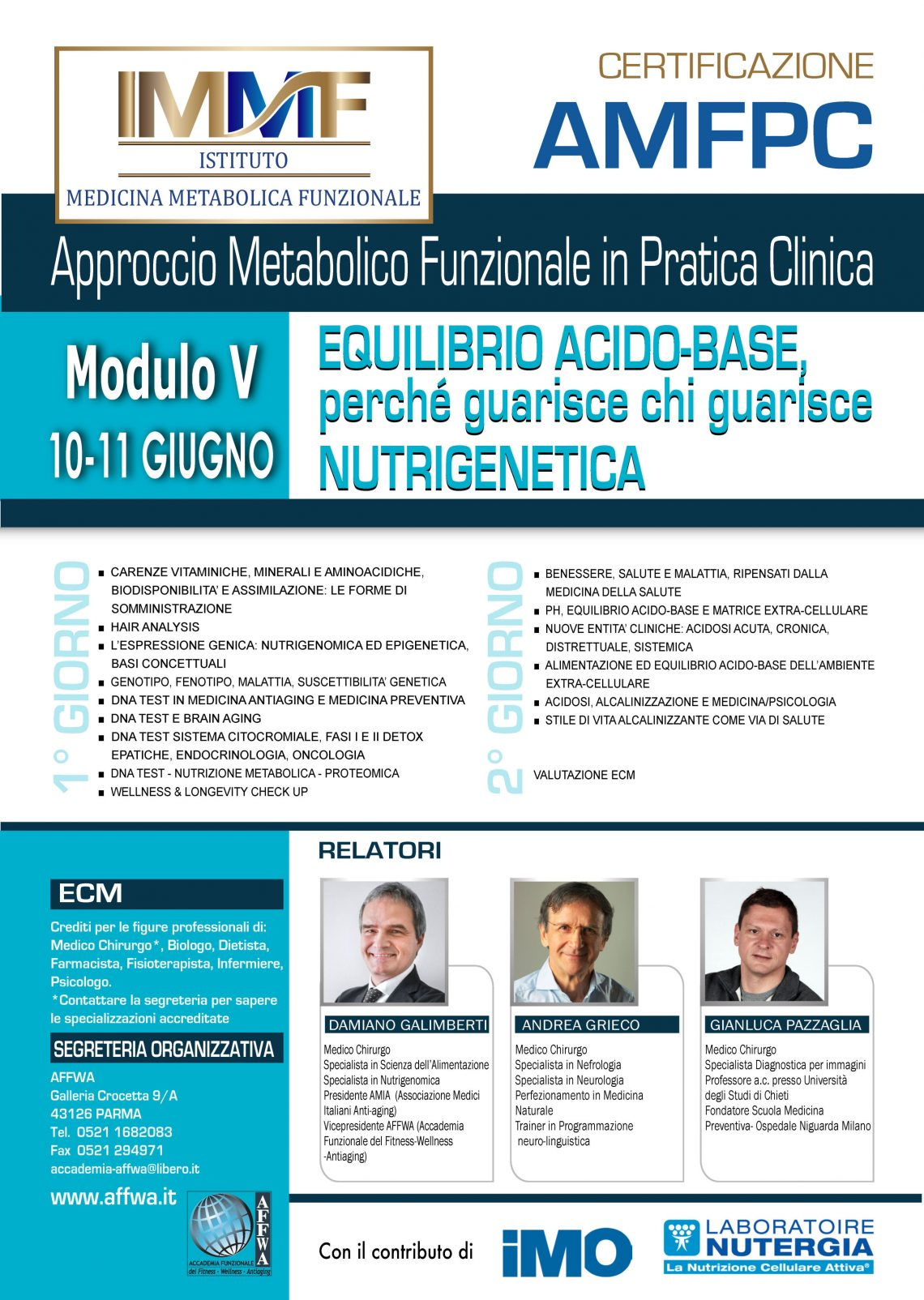 EQUILIBRIO ACIDO-BASE, PERCHE' GUARISCE CHI GUARISCE – NUTRIGENITICA
